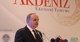 Bakan Özlü: Akdeniz'de güçlü olmak, dünyada güçlü olmaktır