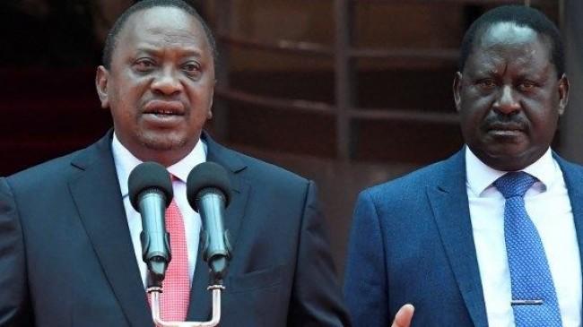 Kenya'da iki lider arasındaki siyasi kriz çözüldü