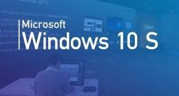 Windows 10 S Mevcut Sürümler İçin Bir 'Mod' Haline Gelecek