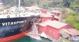 Geminin çarptığı sırada yalıda bulunan Zeynep Ertürer o anları anlattı