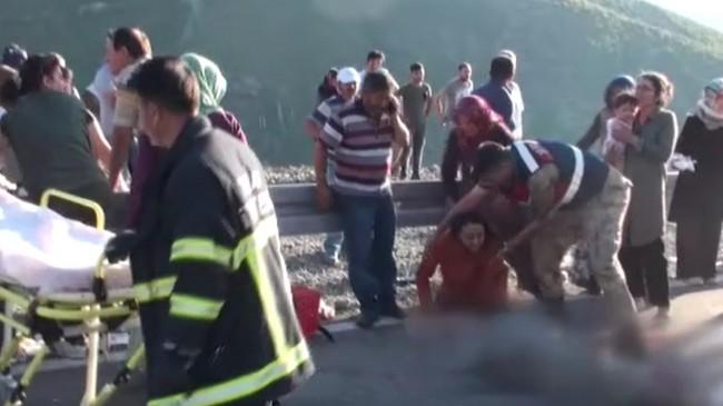 Tokat'ta traktör devrildi: 4 ölü, 22 yaralı