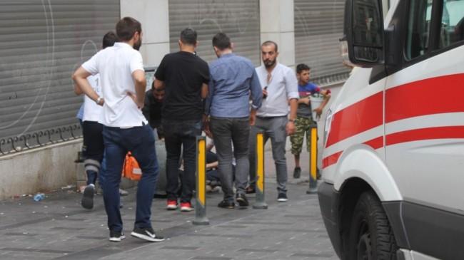 Beyoğlu'da silahlı kavga: 1 yaralı