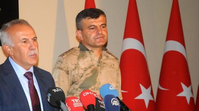 Hatay Valisi: 9 PKK'lı terörist Afrin'de yakanlandı