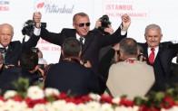İstanbul'da Cumhur İttifakı mitingi