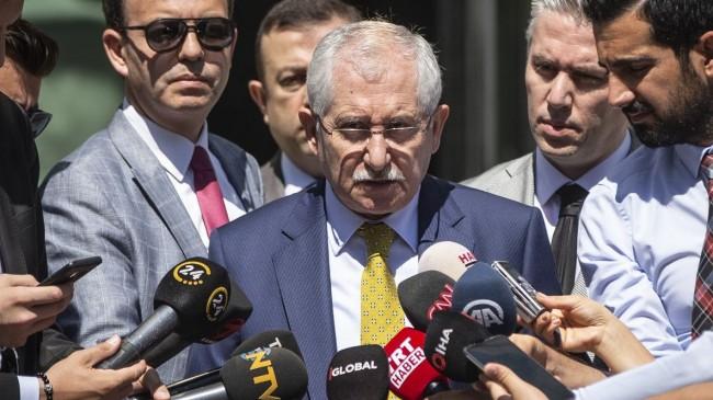 YSK Başkanı Sadi Güven, oy oranlarını açıkladı