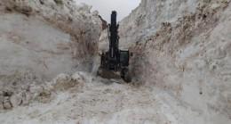 Hakkari'de mayıs ayında 8 metre karla yoğun mücadele