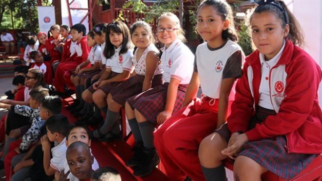 TİKA, Şili'deki Mustafa Kemal Atatürk İlköğretim Okulu'nu yeniledi